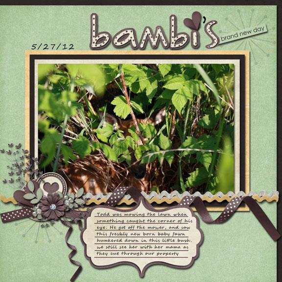 Bambi's Brand New Day