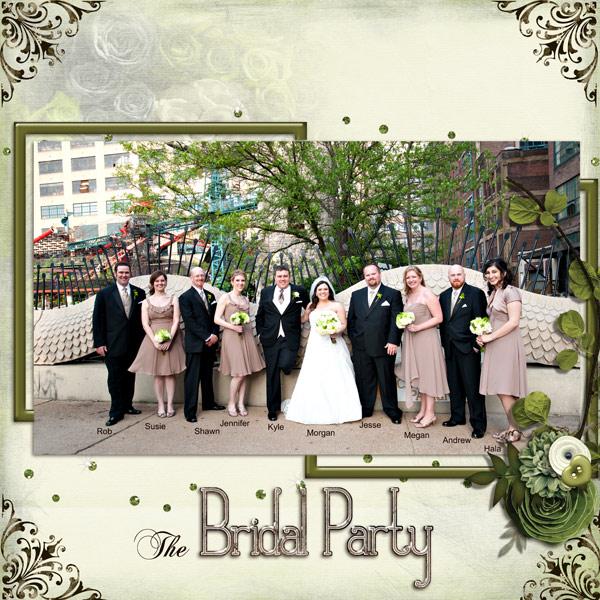 SS- Bridal Party