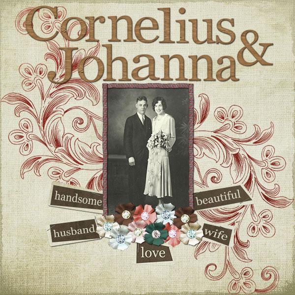 Cornelius & Johanna