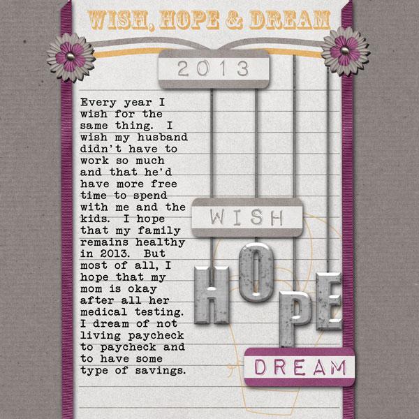 Wish hope Dream
