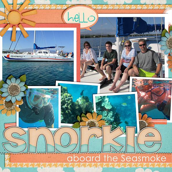 snorkle sail left