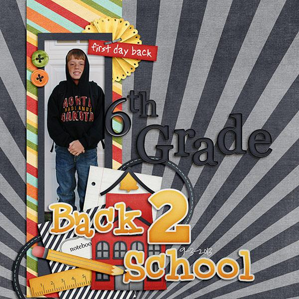 Back 2 School - 6th Grade