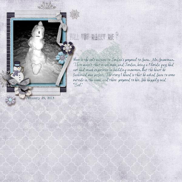 Proposal Snowman