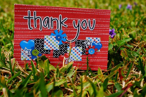 Jan Hybrid Thank You Card
