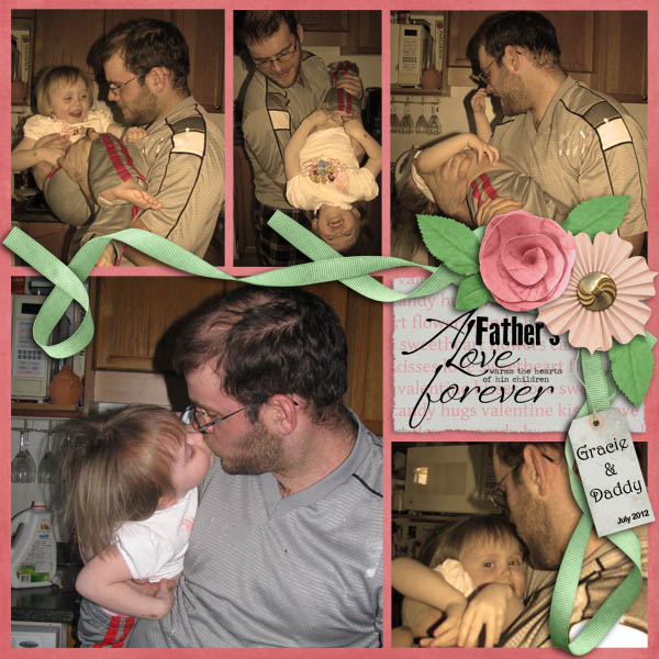 Gracie and Daddy July 2012