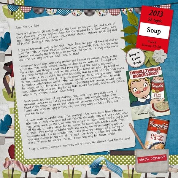 52 topix, Week 4; Soup, Page 2