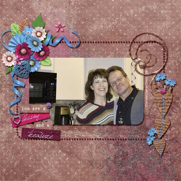 Gail-Don, Blessing and Treasure