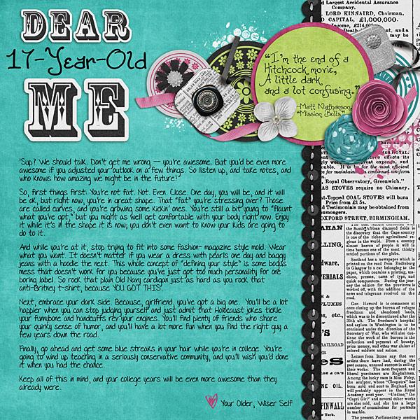 Dear 17-Year-Old Me