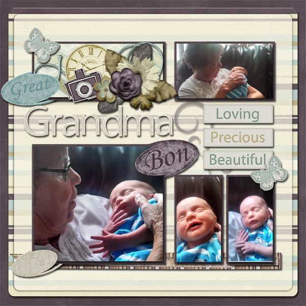 Great Grandma Bon