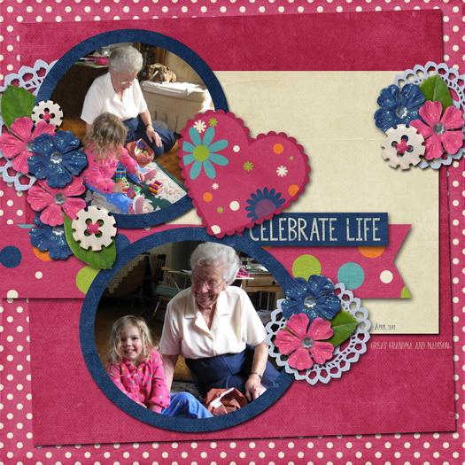 Great Grandma and Madison