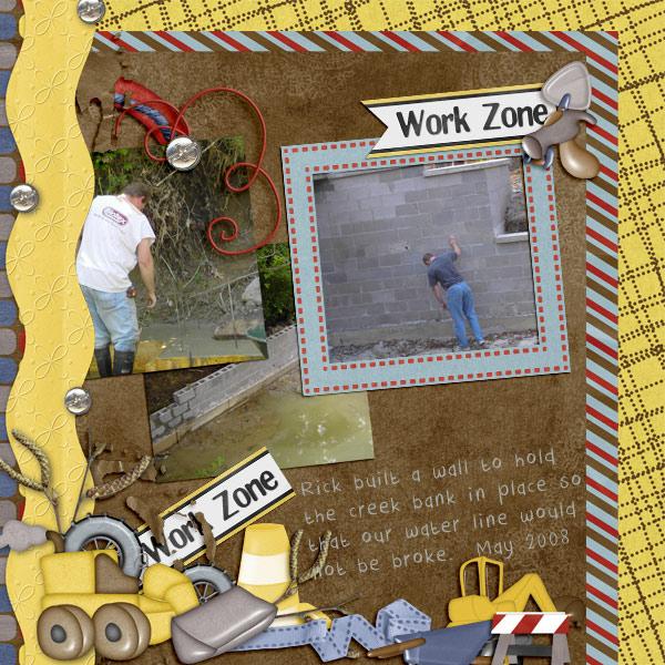 Wall Work Zone