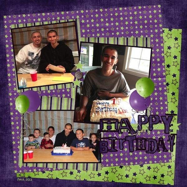 Danny's 16th Birthday