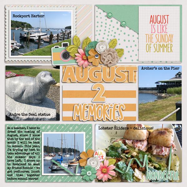 August 2 Memories