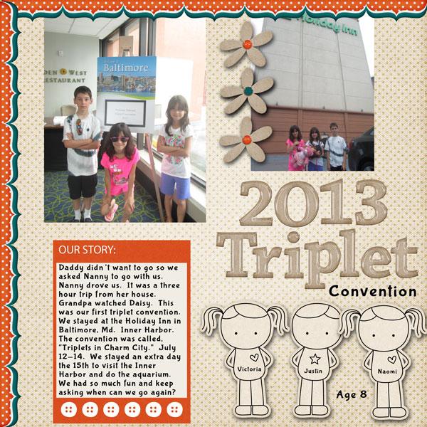 Triplet Convention 2013