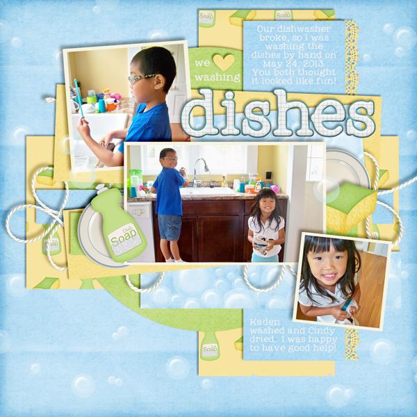 We Love Washing Dishes