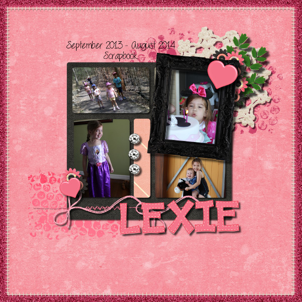 Lexie Yearbook Cover Page