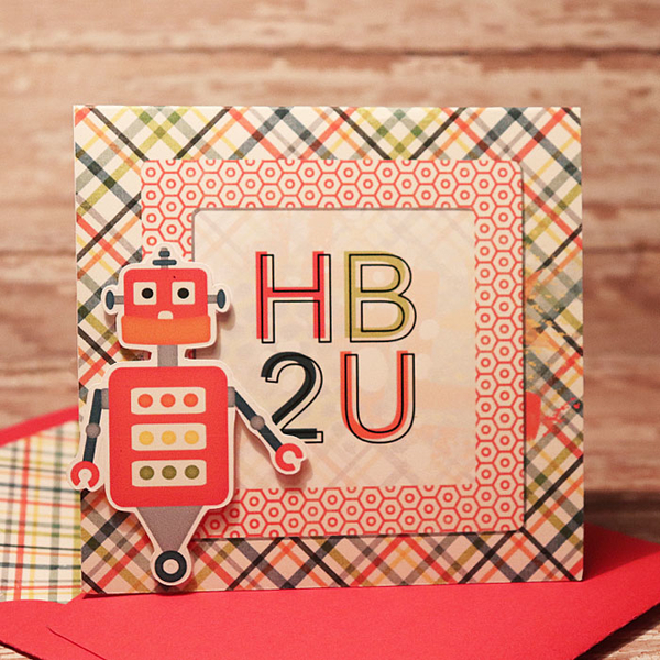 HB2U Robot card