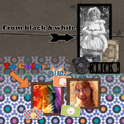 Black to Color Challenge Week 1