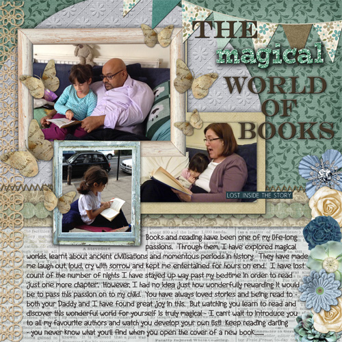 The magical world of books