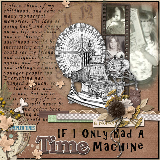 If I Only Had a Time Machine