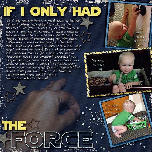 If I Only Had the Force