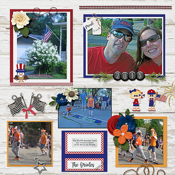 The 4th of July Parade and The Orioles