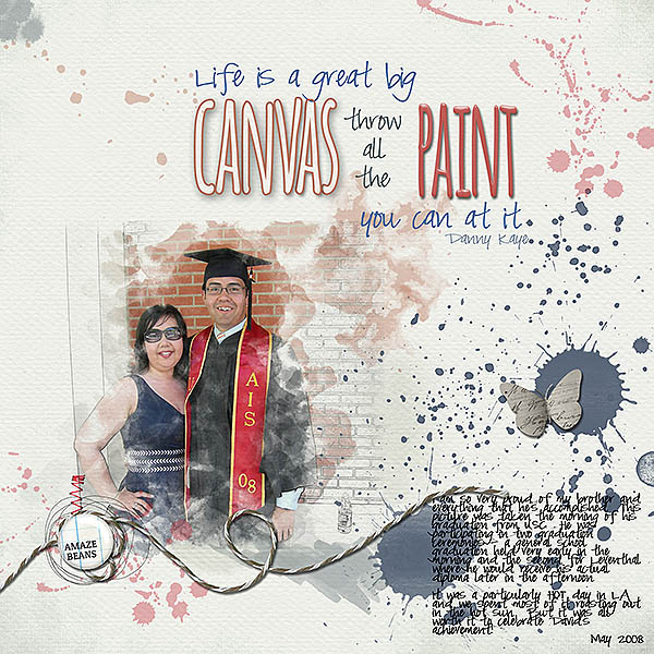 Life is a Great Big Canvas