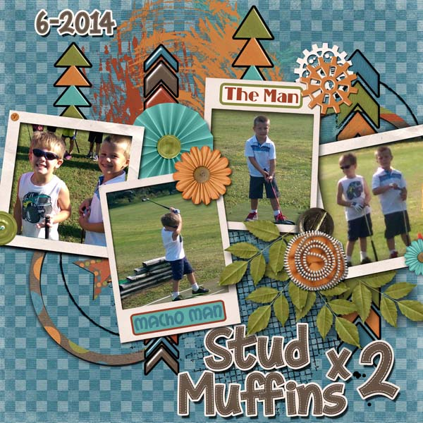 Stud Muffins x2