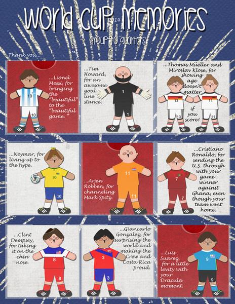 World Cup 2014 Memories