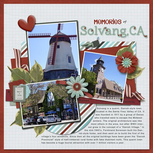 Memories of Solvang CA