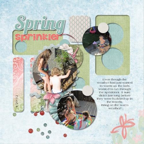 Spring Sprinkler