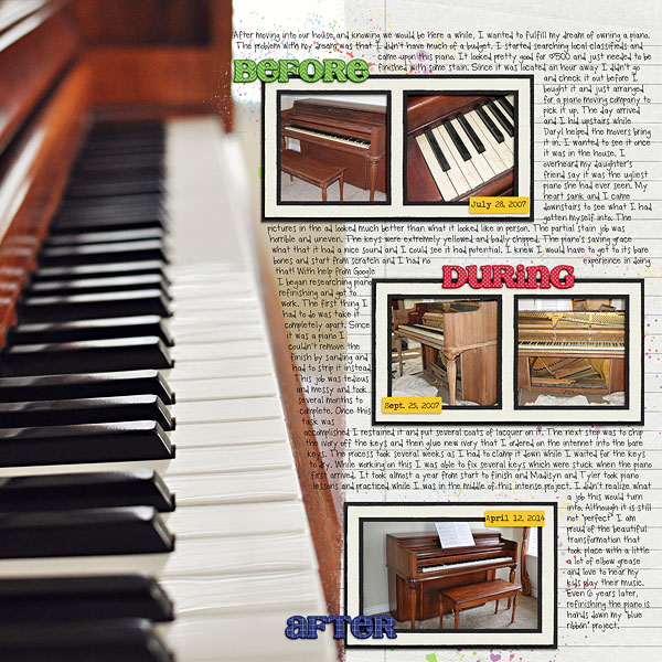 Blue Ribbon Piano