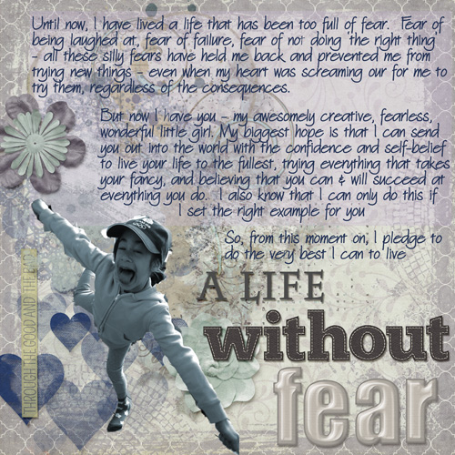 A life without fear