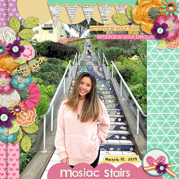 Mosiac Stairs