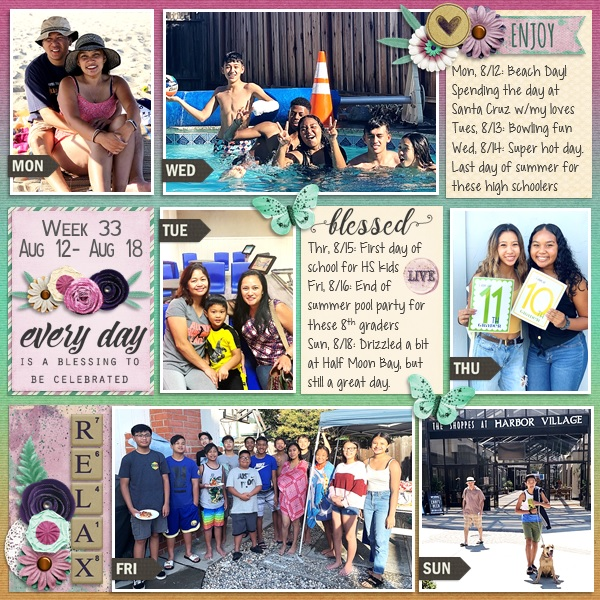 Sep BHS Year of Blessings Challenge