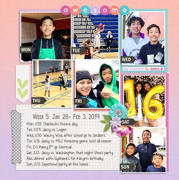 Feb PL2019 Week 5 Challenge