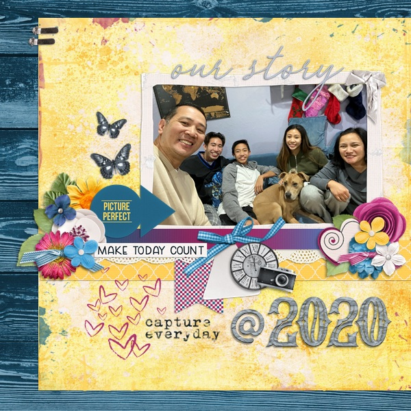 Cover Page @ 2020