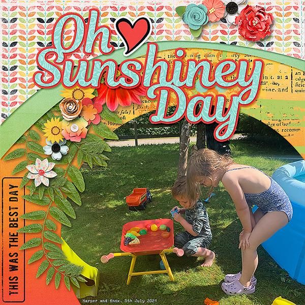 Oh Sunshiney Day!