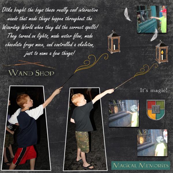 2015 Harry Potter Wands