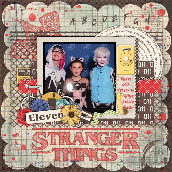 Stranger Things Comic Con