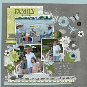 2009 Family Lake Time