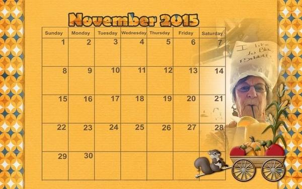 201511 Calendar