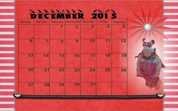 201512 Calendar