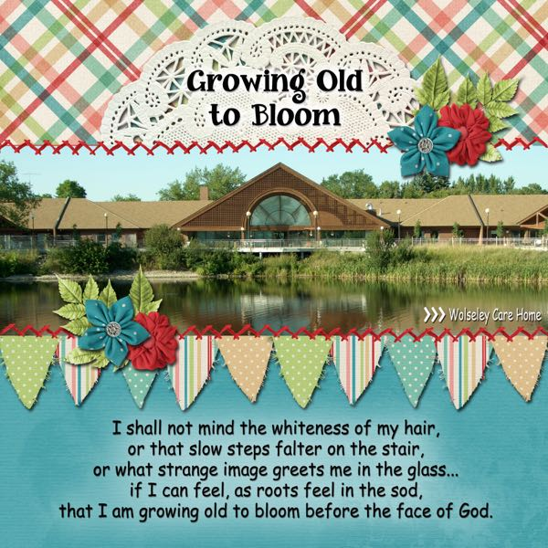 Grow Old to Bloom