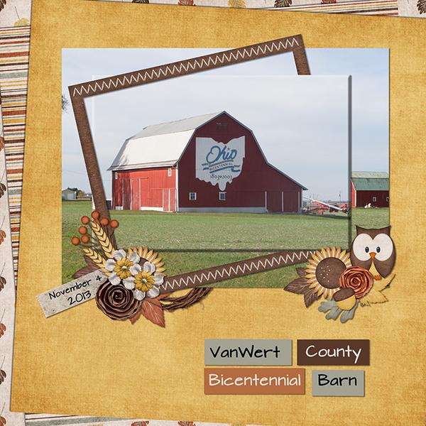 Van Wert County Barn