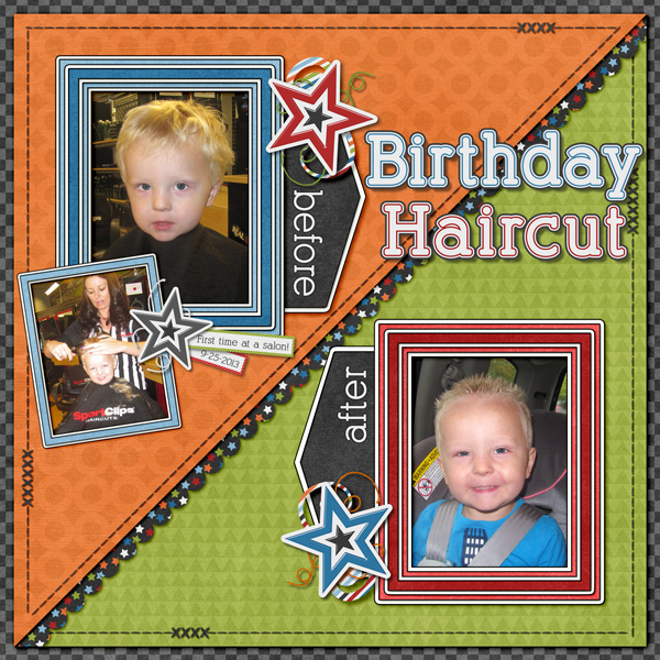 First Salon Haircut