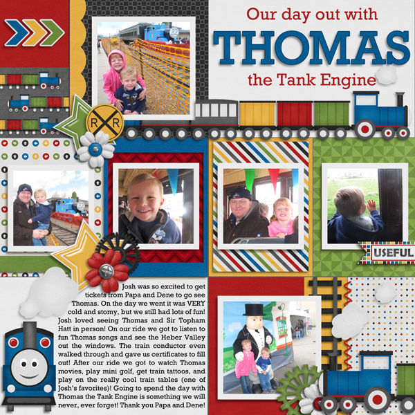 Day out with Thomas Pg. 1