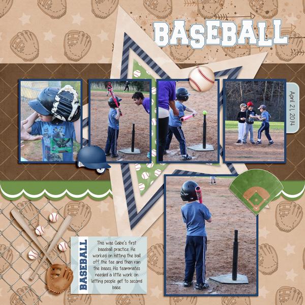 First Baseball practice