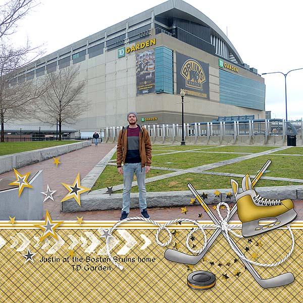 TD Garden Ice Hockey