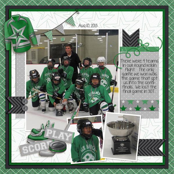 U7 Hockey - Green Team